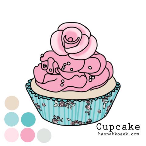 cupcake-6colors