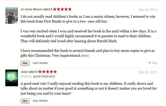 Harold Hark Reviews
