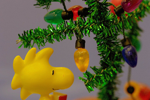 Christmas for Woodstock Peanuts